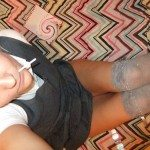 used panties best friend dressed as school girl 23