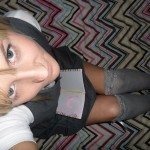 used panties best friend dressed as school girl 28