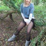 used panties best friend in the woods 10