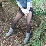 used panties best friend in the woods 12