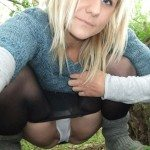 used panties best friend in the woods 22