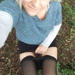 used panties best friend in the woods 29