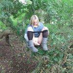 used panties best friend in the woods 49