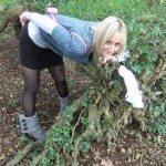 used panties best friend in the woods 60