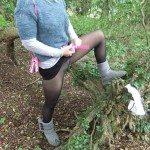 used panties best friend in the woods 61