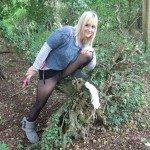 used panties best friend in the woods 64