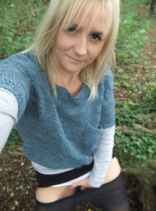 used panties best friend in the woods 19