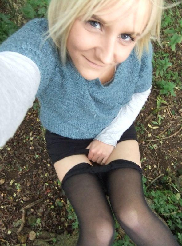 used panties best friend in the woods 30