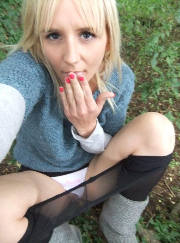 used panties best friend in the woods 37