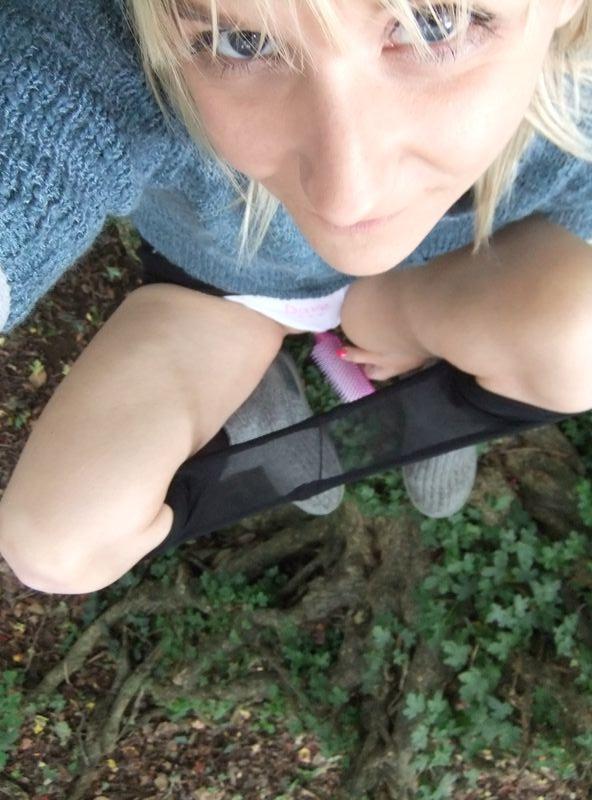 used panties best friend in the woods 43