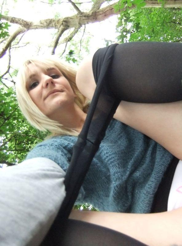 used panties best friend in the woods 48