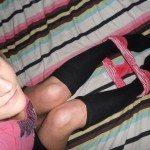 used panties long black socks #usedpanties #pantyseller